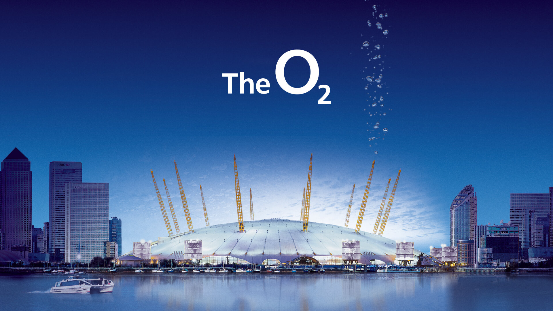 Brand identity for The O2