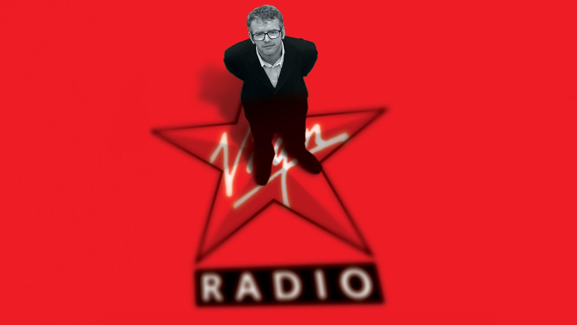 Thinkfarm branding for Virgin Radio featuring Chris Evans